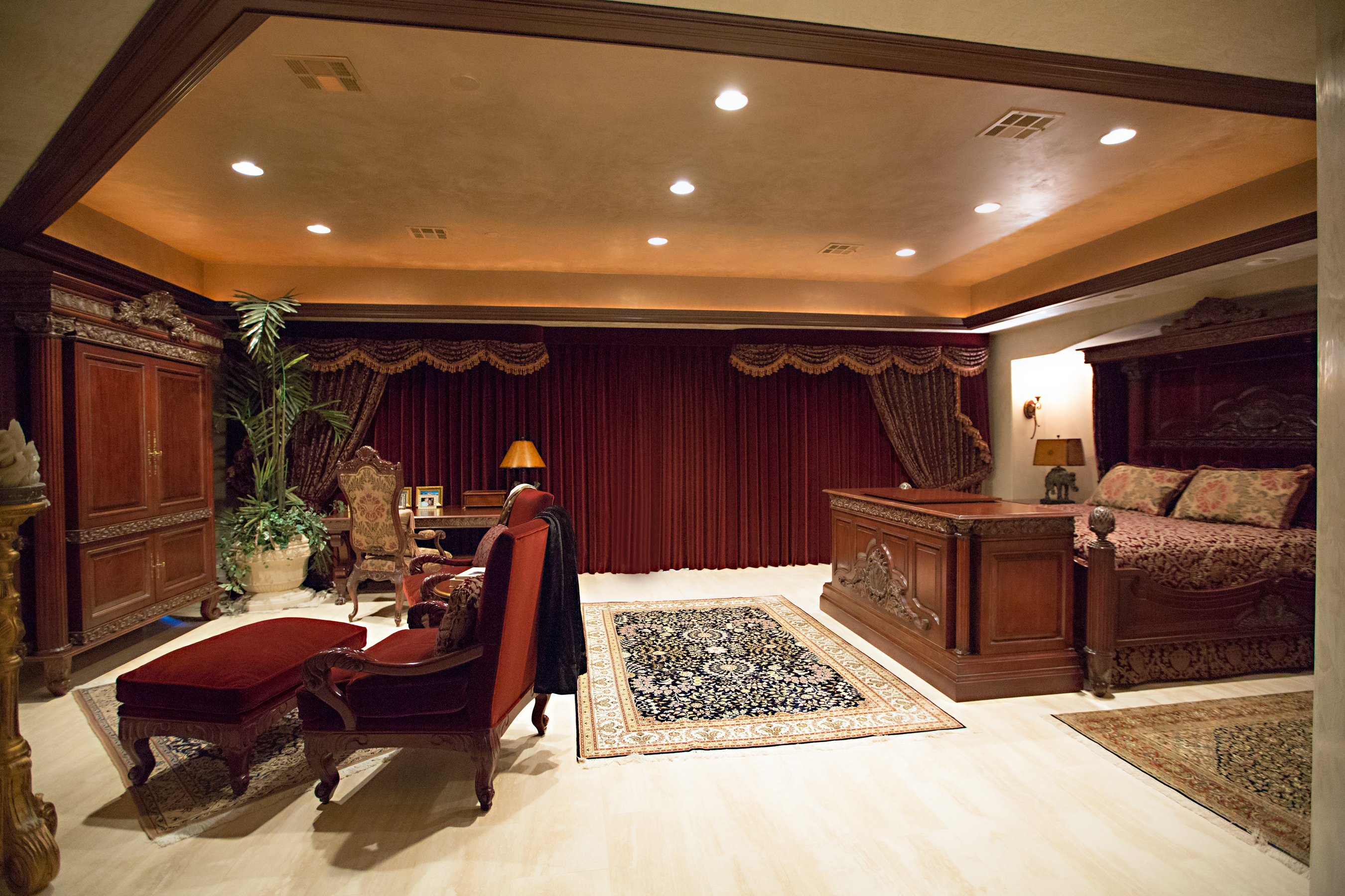 Upholstery and drapery gallery amore interiors Interior decorators las vegas